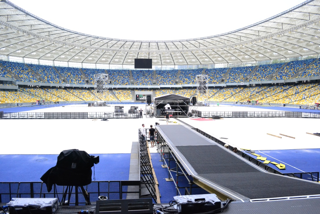 Olympic Stadium, Kiev, Ukraine.